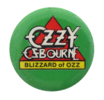 Ozzy Ozbourne Blizzard Music Button Museum