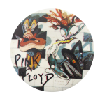Pink Floyd The Wall Music Button Museum