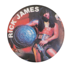 Rick James Music Button Museum