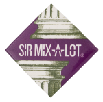 Sir Mix-A-Lot Music Button Museum
