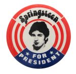 Springsteen for President Music Button Museum
