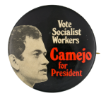 Camejo for President Political Button Museum