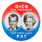 Dick for President Political Button Museum