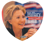 Hillary 2008 Political Button Museum