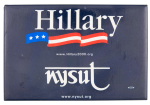 Hillary NYSUT Political Button Museum