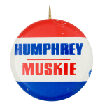 Humphrey Muskie Political Button Museum