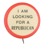 I am Looking for a Republican Political Button Museum