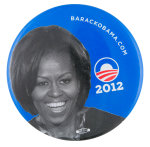 Michelle Obama Political Button Museum