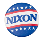 Nixon Stars Political Button Museum
