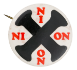 Nixon X Political Button Museum