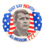 Oliver North Just Say No Political Button Museum