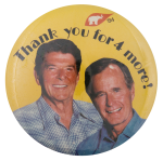 Thank You for 4 More Political Button Museum