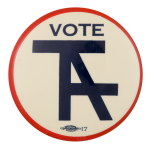 Vote Taft Political Button Museum