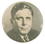 Wendell Willkie Portrait Political Button Museum