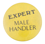Expert Male Handler Social Lubricators Button Museum