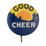 Good Cheer Social Lubricators Button Museum