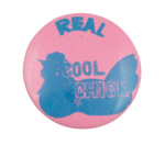 Real Cool Chick Pink Social Lubricators Button Back