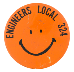Engineers Local 324 Smileys Button Museum
