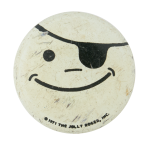 Pirate Smiley Smiley Button Museum