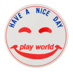 Play World Smiley Smileys Button Museum