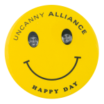 Uncanny Alliance Smileys Button Museum
