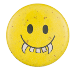 Vampire Smiley Smileys Button Museum