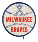 Milwaukee Braves Sports Button Museum