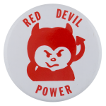 Red Devil Power Schools Button Museum