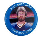 Rick Sutcliffe Chicago Cubs Sports Button Museum