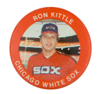 Ron Kittle Chicago White Sox Sports Button Museum