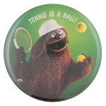 Tennis is a Ball Sports Button Museum