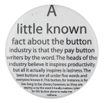 A little known fact Self Referential Button Museum