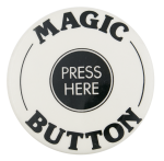 Magic Button Press Here Self Referential Button Museum