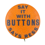 On The Button Self Referential Button Museum