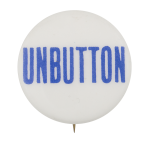 Unbutton Blue Self Referential Button Museum