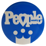 People Weekly - Crown, Advertising, Button Museum