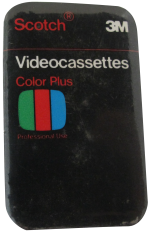 Scotch Videocassettes Advertising Button Museum