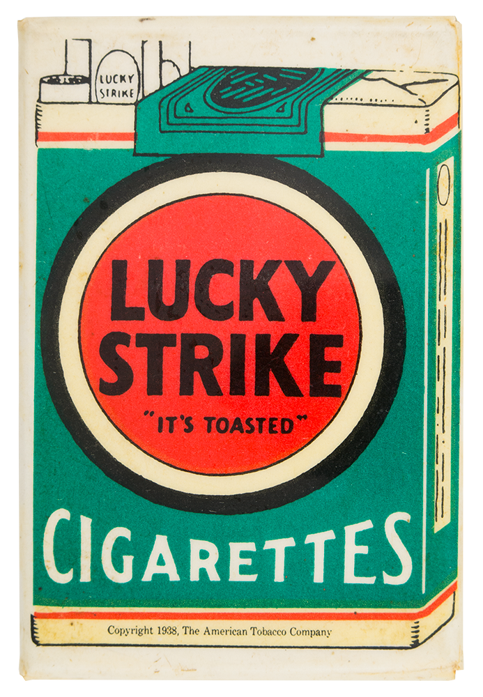 lucky strike cigarettes busy beaver button museum