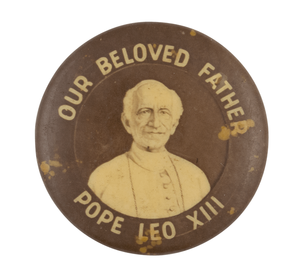 Pope Leo XIII Art Button Museum