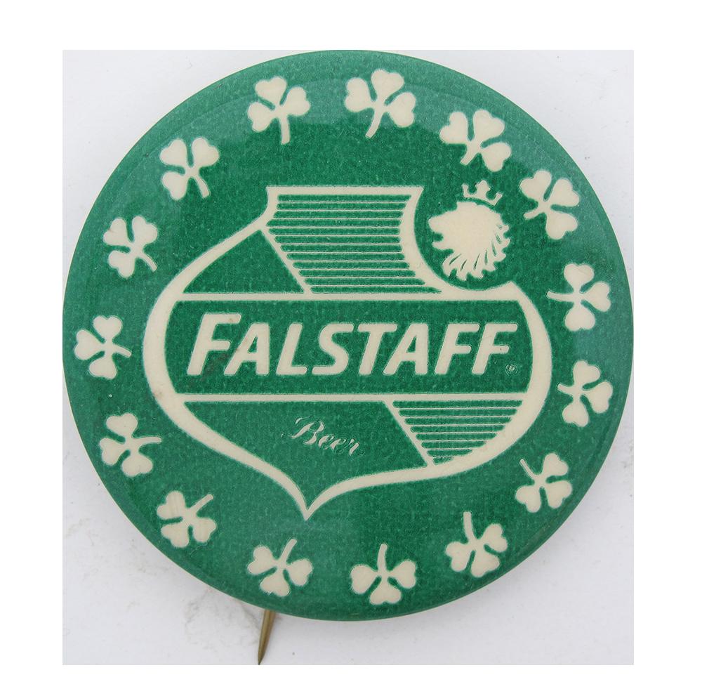 Falstaff Green Beer Button Museum
