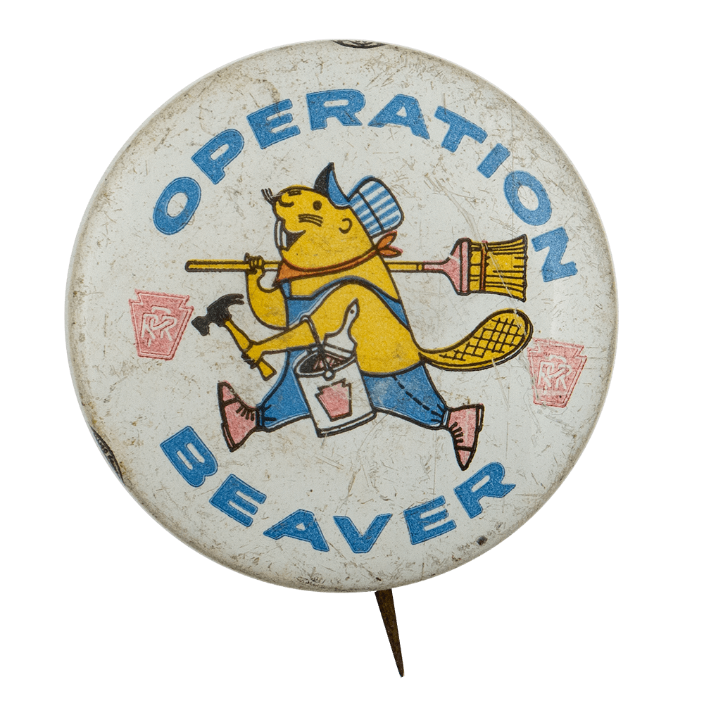 Operation Beaver Beaver Busy Beaver Button Museum