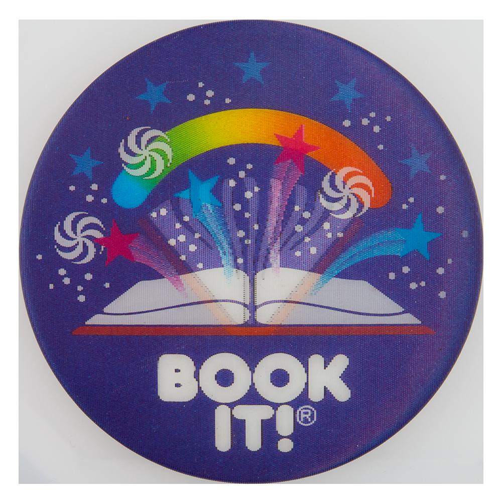 Book It Stars Lenticular Button