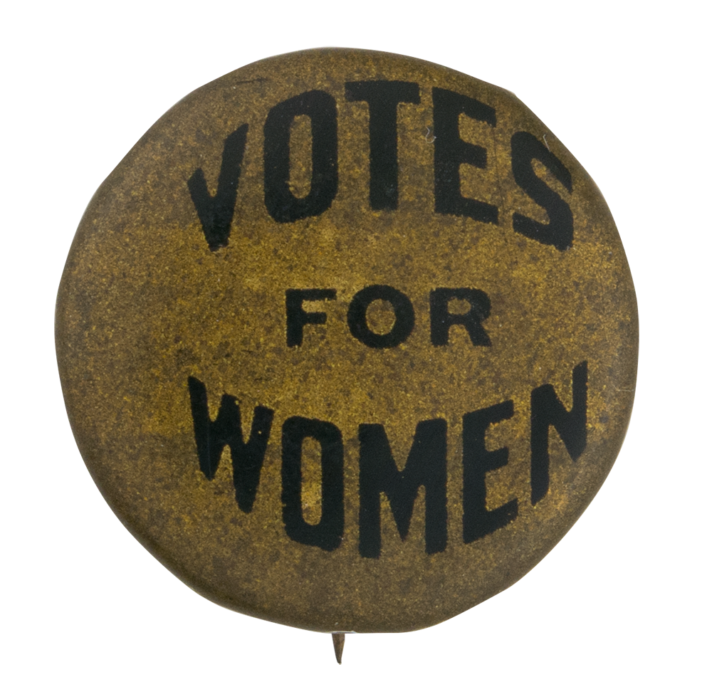 Votes For Women Busy Beaver Button Museum