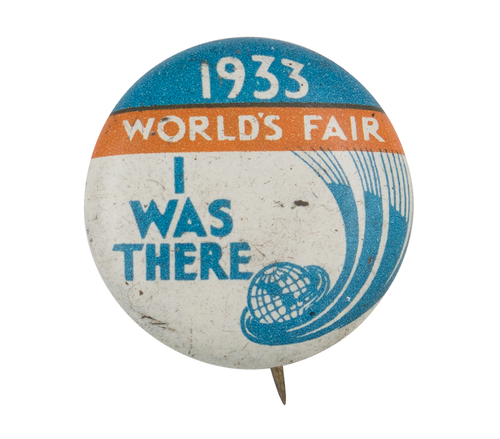 1933 World's Fair Chicago Button Museum