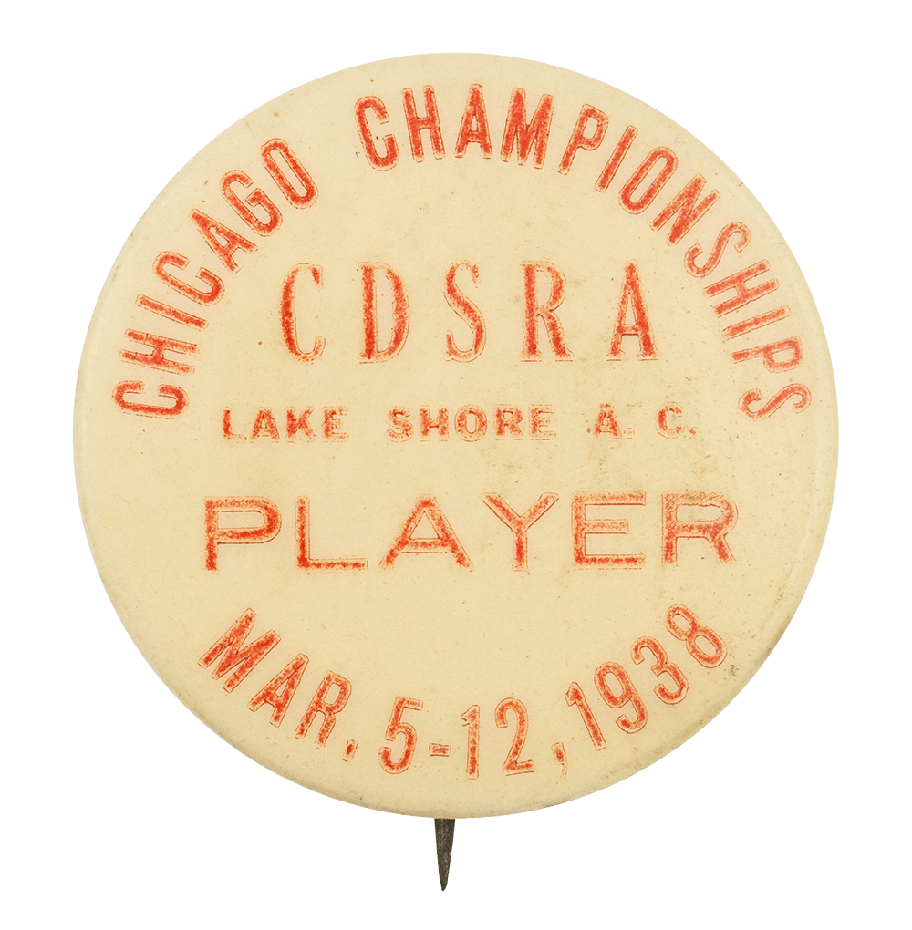CDSRA Chicago Championships 1938 Chicago Button Museum