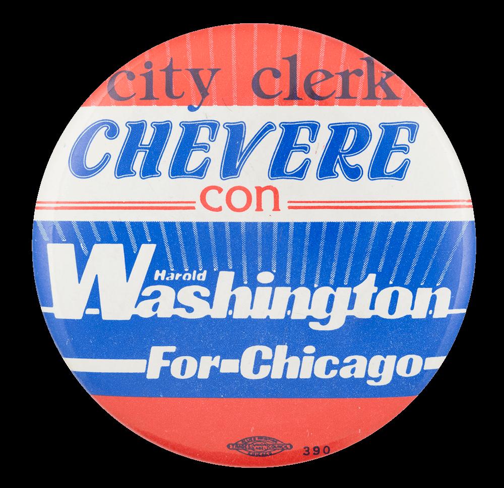 City Clerk Chevere Chicago Button Museum