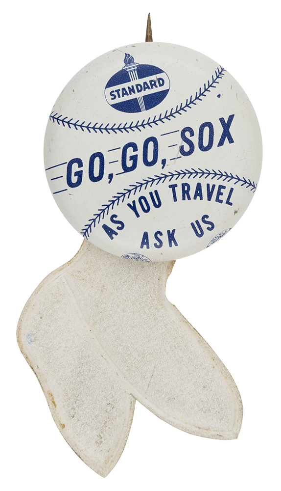 Standard Go Go Sox Chicago Button Museum