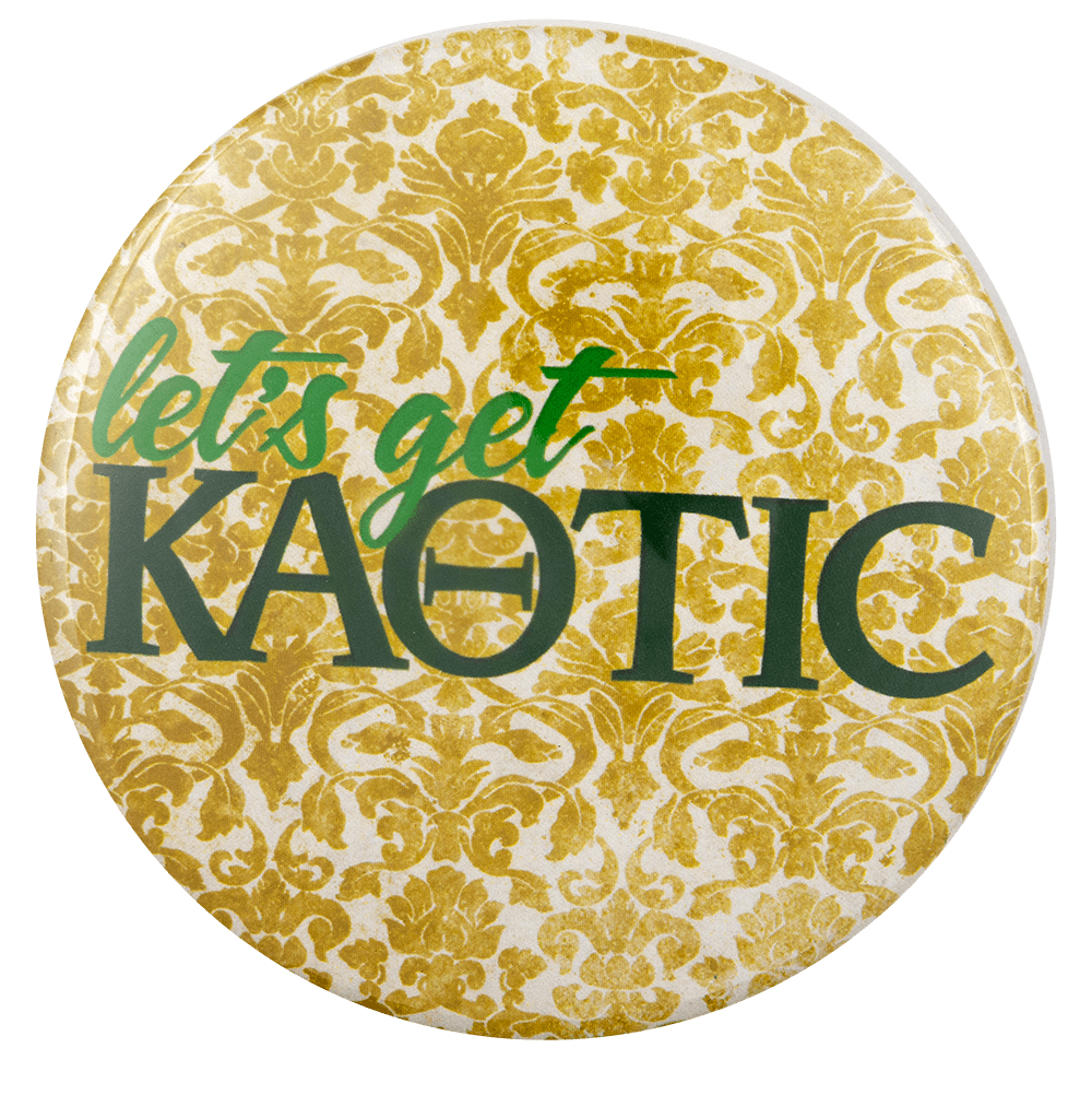 Let's Get Kaotic Club Busy Beaver Button Museum