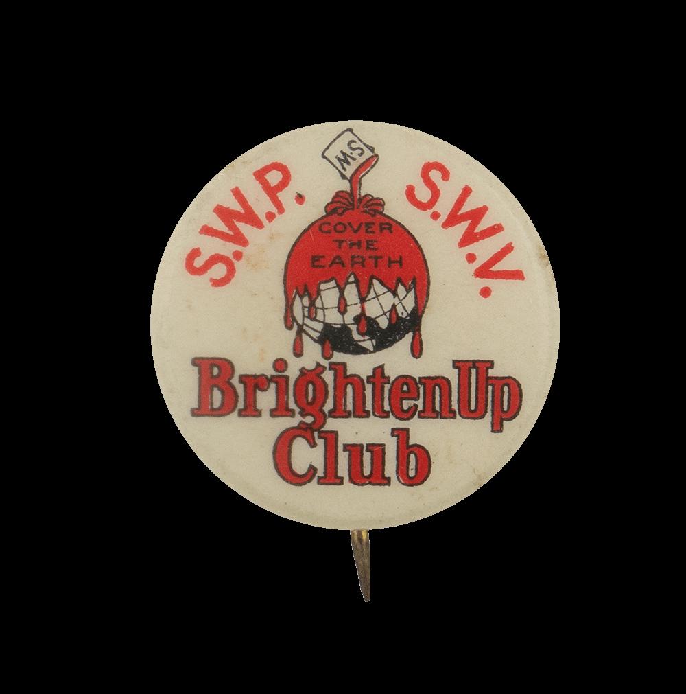 Brighten Up Club Club Busy Beaver Button Museum