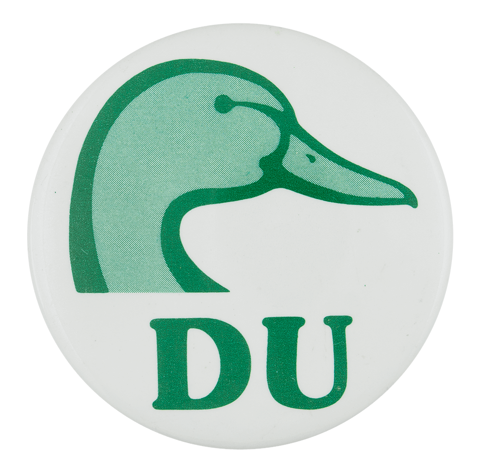 Ducks Unlimited Club Button Museum